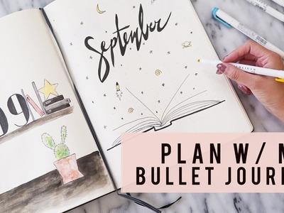 PLAN WITH ME | September 2017 | Bullet Journal | ANN LE