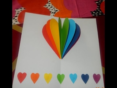Popup Heart Greeting Card