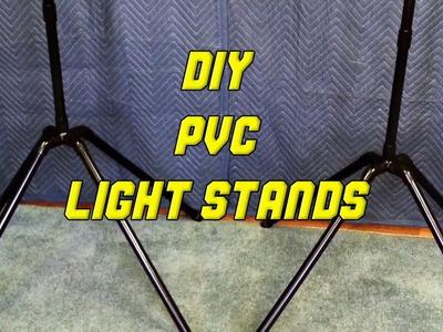 PVC Lightstands: Tips By TurtleDude Ep 3