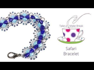 Safari Bracelet   Take a Make Break with Beads Direct