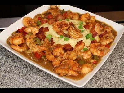 Shrimp & Grits (Saturday Meal) (Legacy) How - To - Make ????