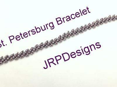 St. Petersburg Bracelet BeadingTutorial --Beginner Level