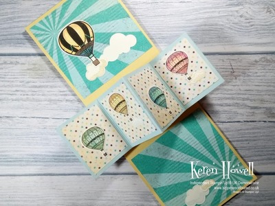 Stampin' Up! Twist and Pop Card - improved