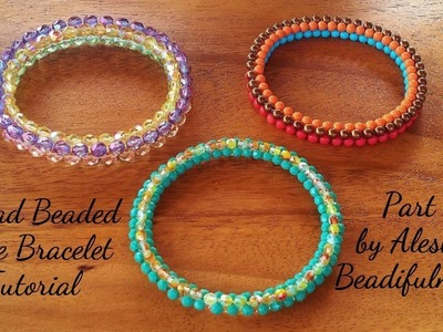 Tetrad Beaded Rope Bracelet Tutorial Part 2