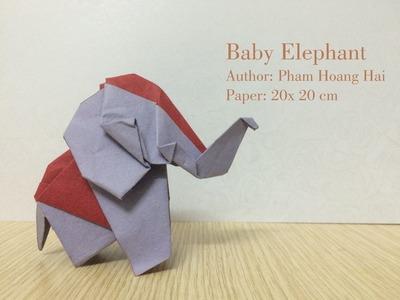 Tutorial: Origami Baby Elephant - PaperPh2