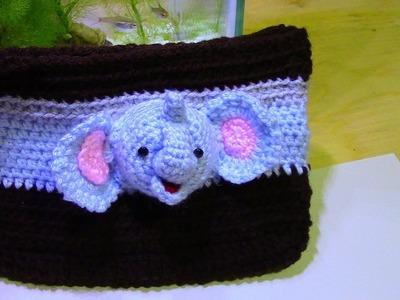 3D  elephant handbag.