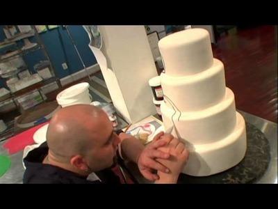 ACE OF CAKES S1E03 Wedding Cakes & Headaches