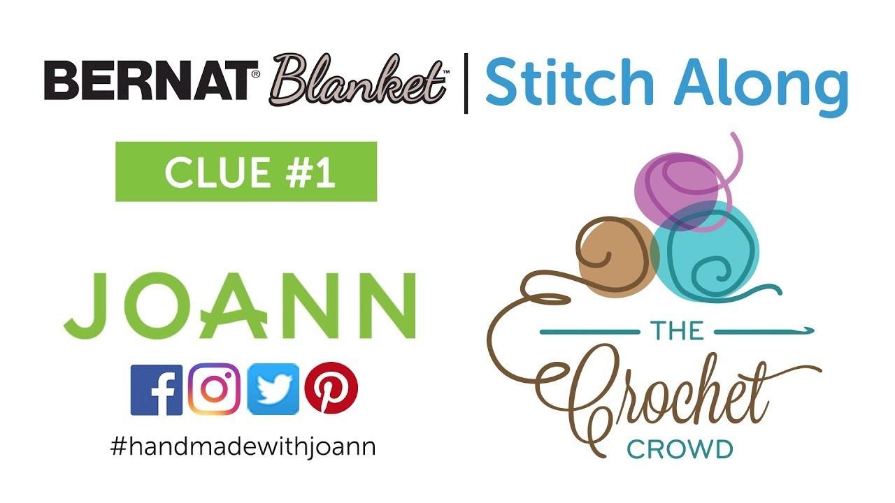 Bernat Blanket Stitch Along: Week 1 Left Hand