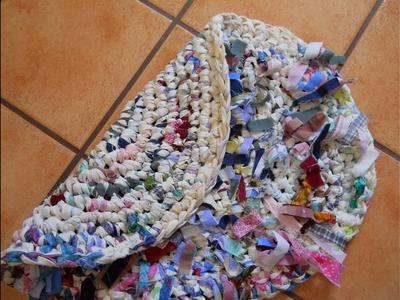 Confetti Reversible Rag Rug (Part 2)