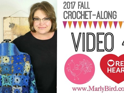 Crochet Along Video 4 Cuffs and Seaming Right Hand