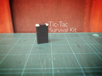 D.I.Y. Tic-Tac Box Survival Kit!