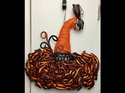 DIY Dollar Tree Witch Hat Form Decorating Ideas Facebook Replay