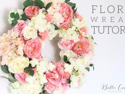 Floral Wreath Tutorial | Bella Coco