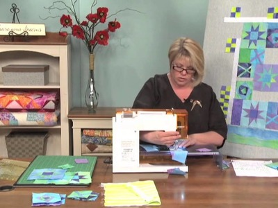 Freestyle Piecing to Make Original Quilt Blocks  |  National Quilter's Circle
