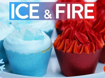 Game Of Thrones Ice Fire Cupcakes Nerdy Nummies