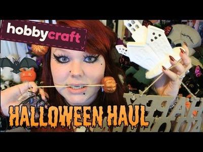 HOBBYCRAFT HALLOWEEN HAUL - Haunted Houses, Potion Bottles and Pumpkins