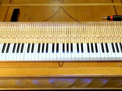 How to assemble a Rhodes piano from scratch in 5 minutes
