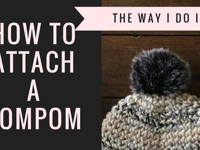 How to Attach a Pompom