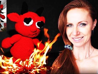 How to crochet devil - free pattern