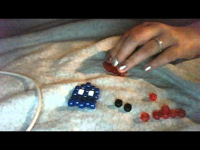 How To: Kandi Pac-man ghost! (Blinky)(Red)