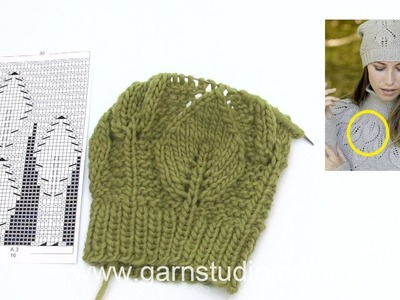 How to knit A.3 in DROPS 181-35