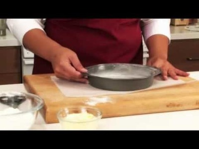 How to line a cake pan