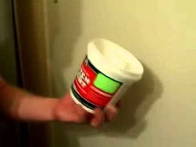 How to Patch a Hole in Drywall - How to Fix Drywall