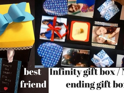 Infinite gift box | never ending gift box | infinity gift box | surprise box | best friend gift