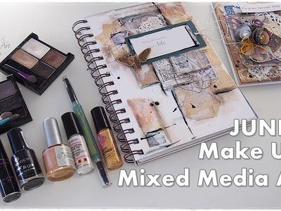 Junk Art from MAKE UP & TRASH ♡ Mixed Media No Cost ♡ Maremi's Small Art ♡