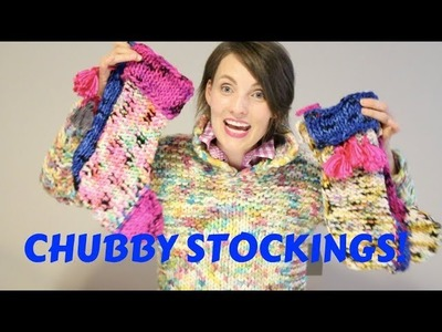 Kristy Glass Knits: Hedgehog Chubby Stockings