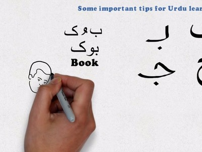 Learn Urdu - Lesson 3 - The Urdu Alphabets and their positions and shapes