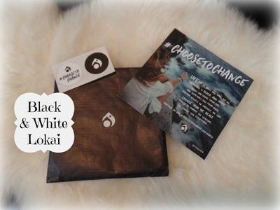 Lokai 2017 Black & White Bracelet Unboxing