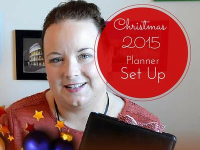 My 2015 Christmas Planner Set Up | A Style of Living