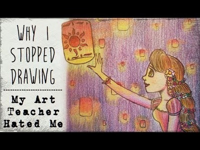 My Art Teacher Hated Me (Why I stopped drawing). Story Time