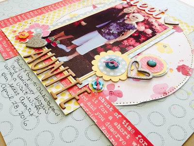"""Scrap the Challenge #9: """"Circles and Sewing"""""""