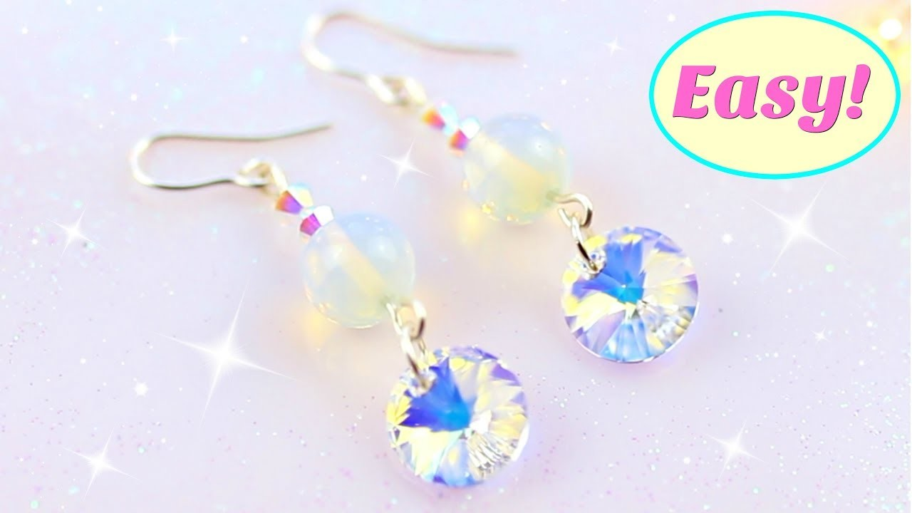 Simple Earrings EASY Step By Step Crafts You Need To Try!
