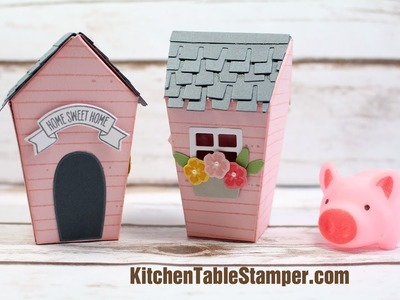 Stampin Up Home Sweet Home Treat Box Tutorial - Kitchen Table Stamper
