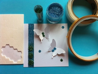 Tips for using your double sided adhesives for more than card stock!