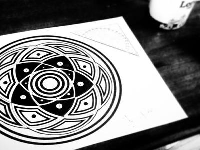 5 Circles In Harmony - Mandala Drawing Tutorial