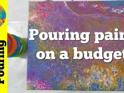 (57) Acrylic pouring on a budget - how to save money