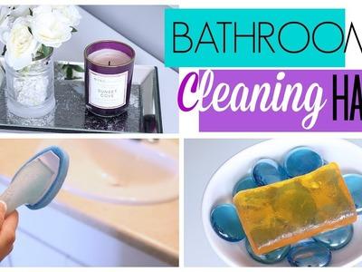 7 Bathroom Cleaning Hacks to Make Cleaning EASIER