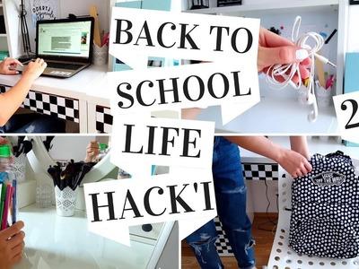 BACK TO SCHOOL 2017 LIFE HACK'I #2 | TRIKI DO SZKOŁY