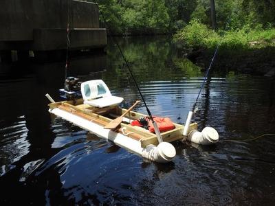 Cheap Homemade PVC Fishing Kayak How To