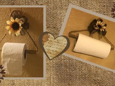 DIY Farmhouse Paper Towel