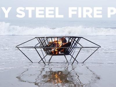 DIY Steel Fire Pit | Welding a fire pit out of steel rod