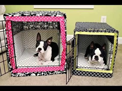 Dog Cage Covers Set Of Useful Picture Ideas | Dog Cage Decor Covers for Happy Dogs