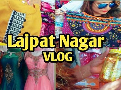 Exploring Lajpat Nagar Market Delhi | Best Market for Kurtis and Cloth| Vlog Part -1