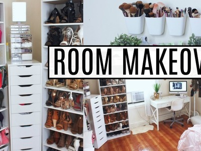 EXTREME Room Makeover | Re-Organizing, Cleaning, Decluttering