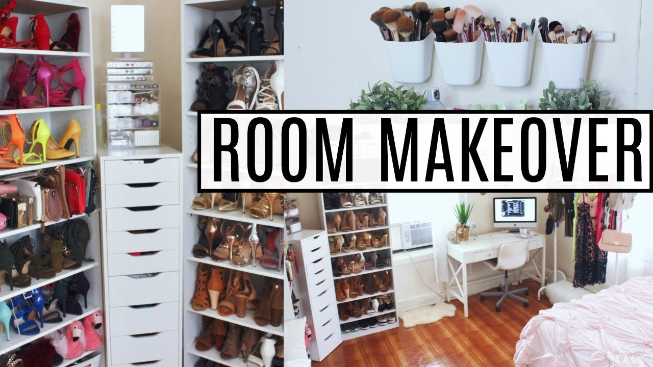 EXTREME Room Makeover   Re-Organizing, Cleaning, Decluttering