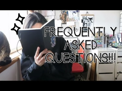 FAQ - What pens I use? Where is Draco? Lily Potter!? How old am I? | Doodles by Sarah